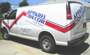 Apparel Decor and More Company Vehicle